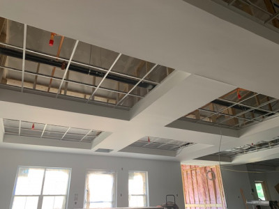 Finished Ceiling ABC Corridor
